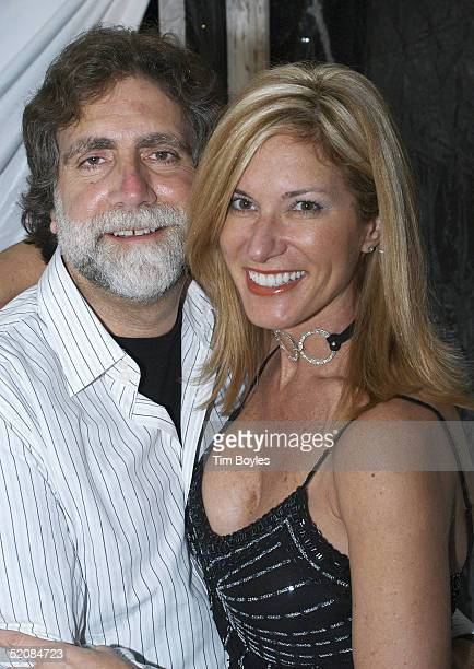 """Producer David Garber poses with Christine Bowman at the """"Gala on the Green"""" at The Longboat Key Club at the Sarasota Film Festival January 29, 2005..."""
