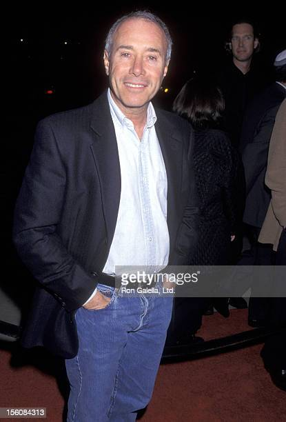Producer David Geffen attends the 'Amistad' Beverly Hills Premiere on December 8 1997 at Samuel Goldwyn Theatre in Beverly Hills California