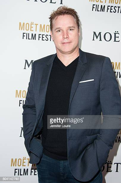 Producer David Guillod attends Moet and Chandon celebrating 25 Years at The Golden Globes on January 8 2016 in West Hollywood California