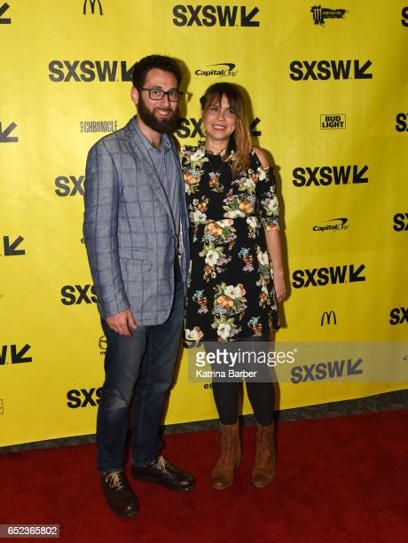 Producer David Hartstein and writer/director Karen Skloss attend the premiere of The Honor Farm during 2017 SXSW Conference and Festivals at...