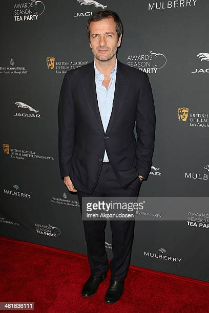 Producer David Heyman attends the BAFTA LA 2014 Awards Season Tea Party at the Four Seasons Hotel Los Angeles at Beverly Hills on January 11 2014 in...