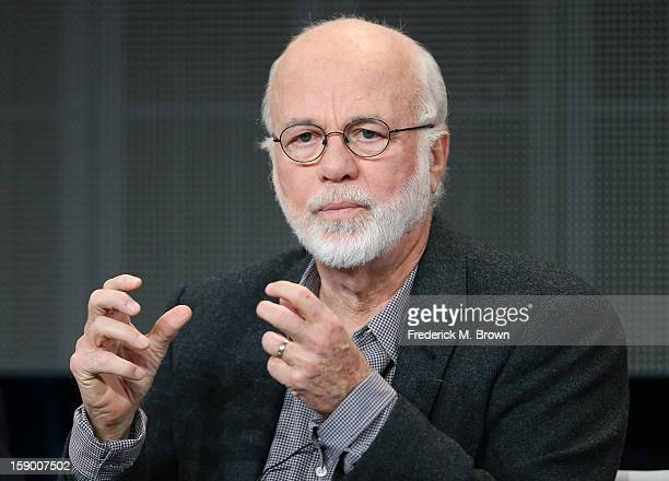 """Producer David Hume Kennerly speak onstage at the """"The Presidents' Gatekeepers"""" panel discussion during the Discovery Channel portion of the 2013..."""