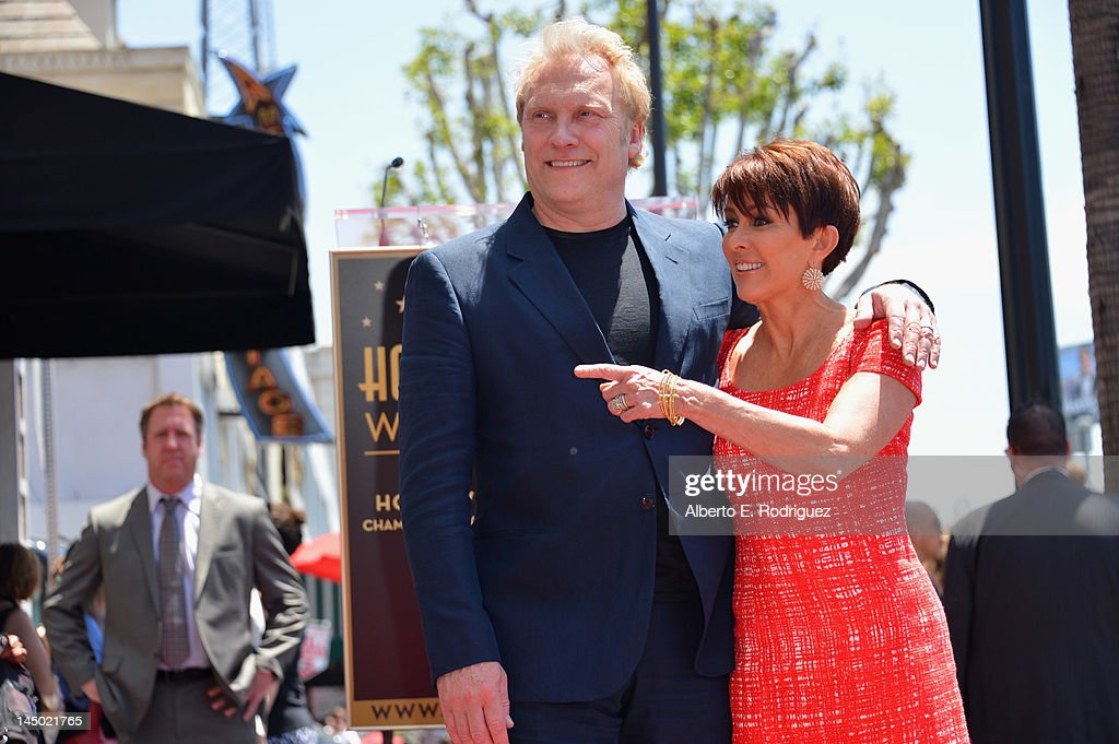 Patricia Heaton Honored On The Hollywood Walk Of Fame : News Photo
