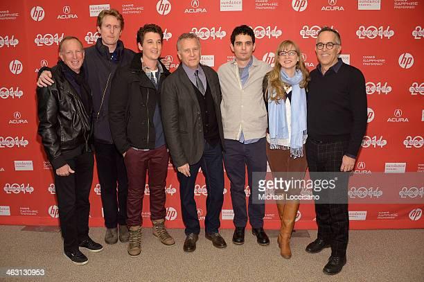 Producer David Lancaster producer Couper Samuelson actor Miles Teller comedian Paul Reiser filmmaker Damien Chazelle producer Helen Estabrook and...