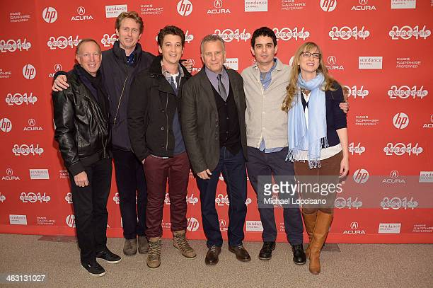 Producer David Lancaster producer Couper Samuelson actor Miles Teller comedian Paul Reiser filmmaker Damien Chazelle and producer Helen Estabrook...