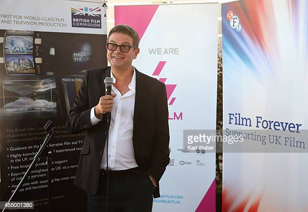 Producer David Livingstone attends the British Film Commission We are UK Film Party during the 2014 Toronto International Film Festival held at the...