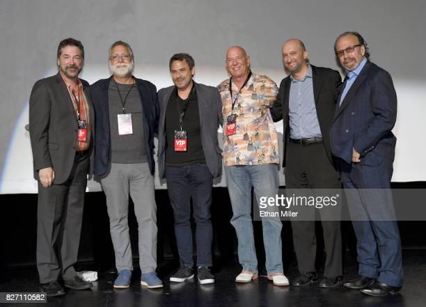 Producer David Michael Latt coproducer David Garber executive director David Rimawi Panacea Entertainment's Eric Gardner Caesars Entertainment Senior...