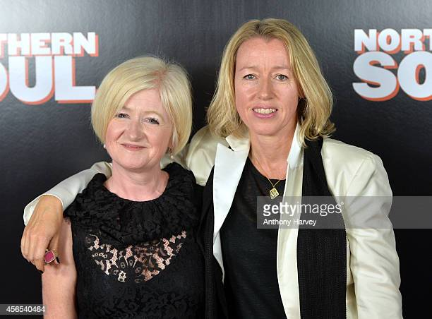 Producer Debbie Gray and Director Elaine Constantine attend the UK Gala screening of 'Northern Soul' at Curzon Soho on October 2 2014 in London...