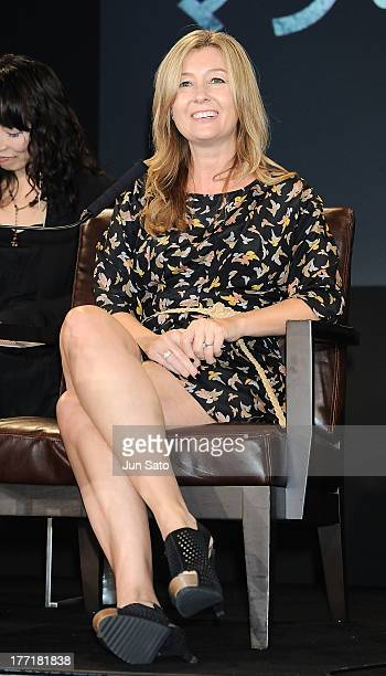 Producer Deborah Snyder attends the 'Man of Steel' press conference at the Grand Hyatt on August 22 2013 in Tokyo Japan