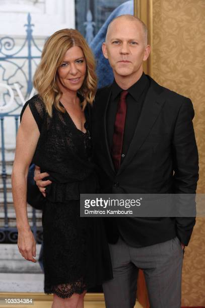 Producer Dede Gardner and Director Ryan Murphy attend the premiere of Eat Pray Love at the Ziegfeld Theatre on August 10 2010 in New York City