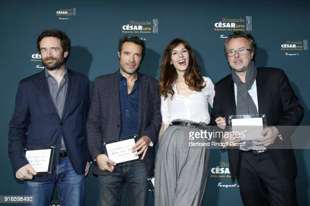 Producer Denis PineauValencienne Director Nicolas Bedos Actress Doria Tillier and Producer Franois Kraus nominated together for Best Film for the...