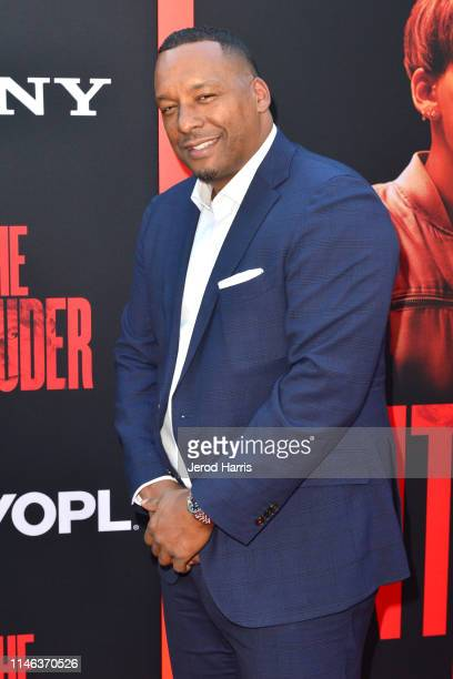 Producer Deon Taylor arrives at the Premiere of 'The Intruder' at ArcLight Hollywood on May 01 2019 in Hollywood California