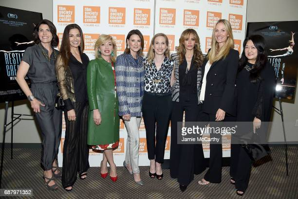 Producer Diana DiMennaDayssi Olarte de KanavasFrederica Marchionniballerina Wendy WhelanUlla Parker and Christine Mack attends the Restless Creature...