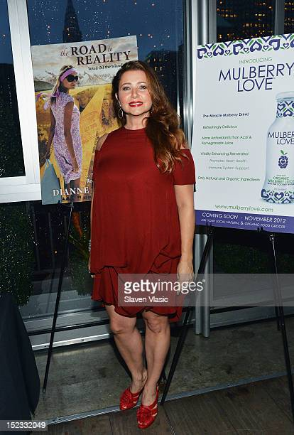 Producer Dianne Burnett attends her Road To Reality Book Launch Party at The Kimberly Hotel on September 18 2012 in New York City