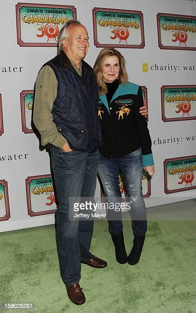 Producer Dick Ebersol and actress/wife Susan Saint James attend Charlie Ebersol's 'Charlieland' Birthday Party And Charity Water Fundraiser on...
