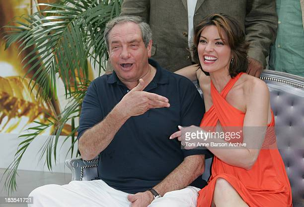 Producer Dick Wolf and actress Alana de la Garza attend a photocall promoting the television series 'Law and Order ' on the fourth day of the 2008...