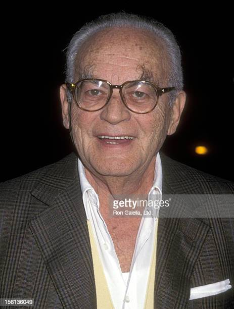 Producer Dino De Laurentiis attends the 'Amistad' Beverly Hills Premiere on December 8 1997 at Samuel Goldwyn Theatre in Beverly Hills California