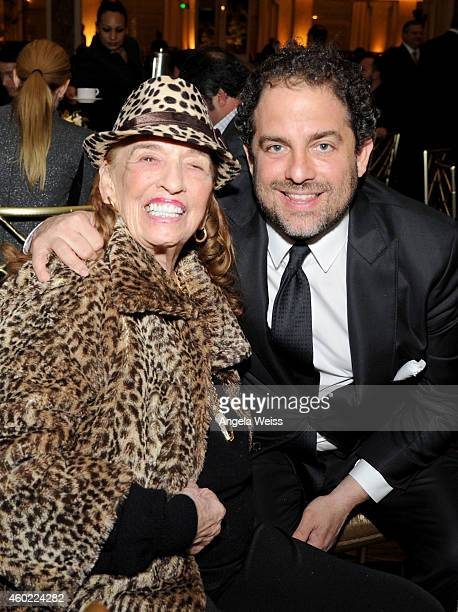Producer director and 2014 Variety Home Entertainment and Digital Hall of Fame inductee Brett Ratner and his grandmother Fanita Presman attend Press...