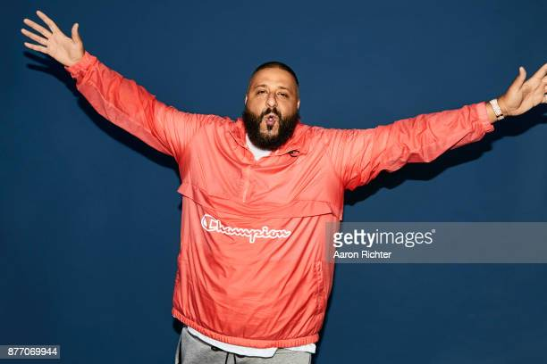 Producer DJ Khaled is photographed for Billboard Magazine on August 19 2017 at the Billboard Hot 100 Music Festival at Northwell Heath at Jones Beach...