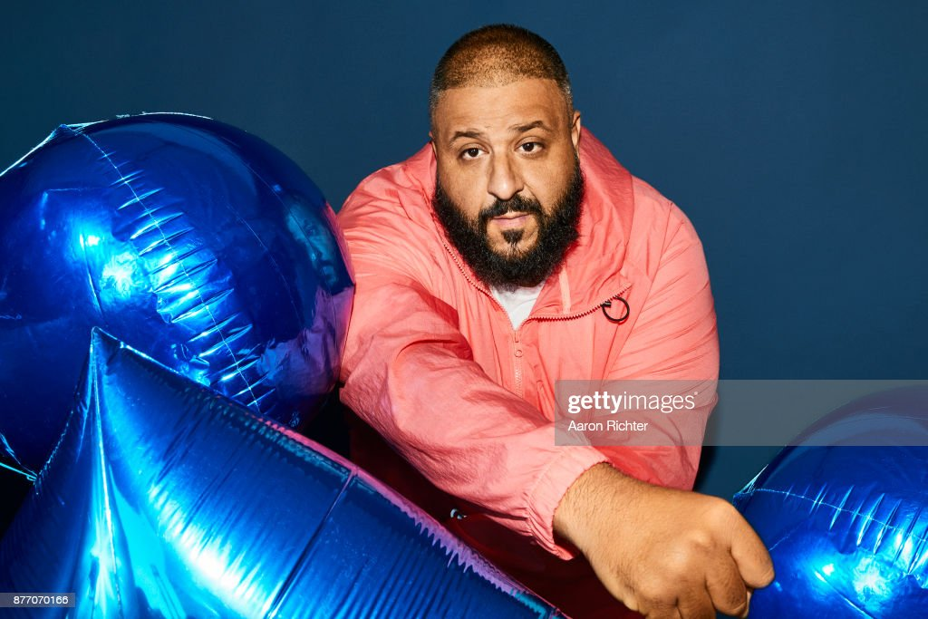 Producer DJ Khaled is photographed for Billboard Magazine on August 19, 2017 at the Billboard Hot 100 Music Festival at Northwell Heath at Jones Beach Theater in Wantagh, New York.