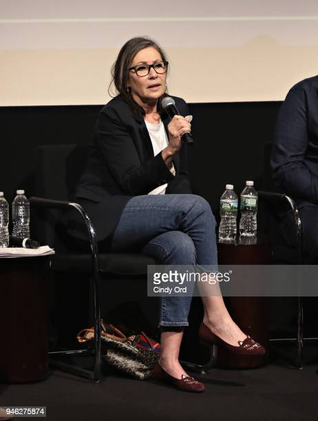 Producer Donna Gigliotti speaks as The Academy of Motion Picture Arts Sciences presents the inaugural 2018 Careers in Film Summit New York on April...