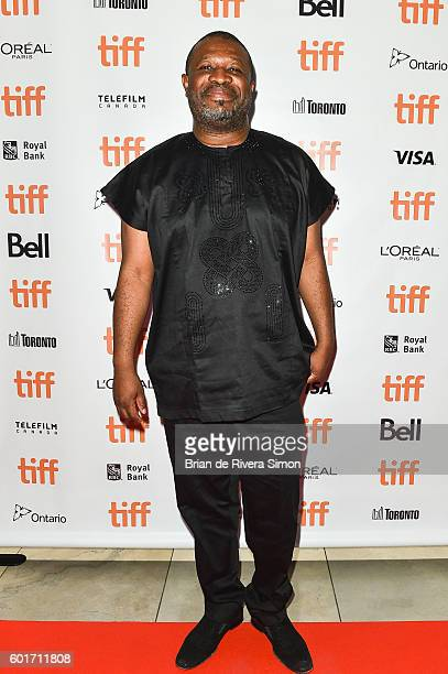 """Producer Dotun Olakunri attends the """"93 Days"""" premiere during 2016 Toronto International Film Festival at Isabel Bader Theatre on September 9, 2016..."""