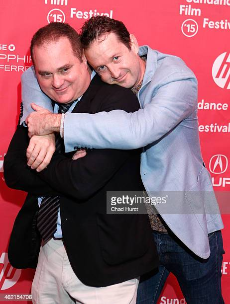 Producer Douglas Tirola and Sundance Film Festival Director of Programming Trevor Groth attend the Drunk Stoned Brilliant Dead The Story Of The...