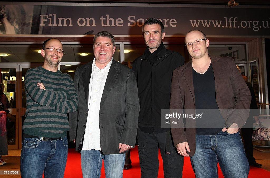 Producer Ed Guiney Actor Pat Shortt Writer Mark O Halloran And