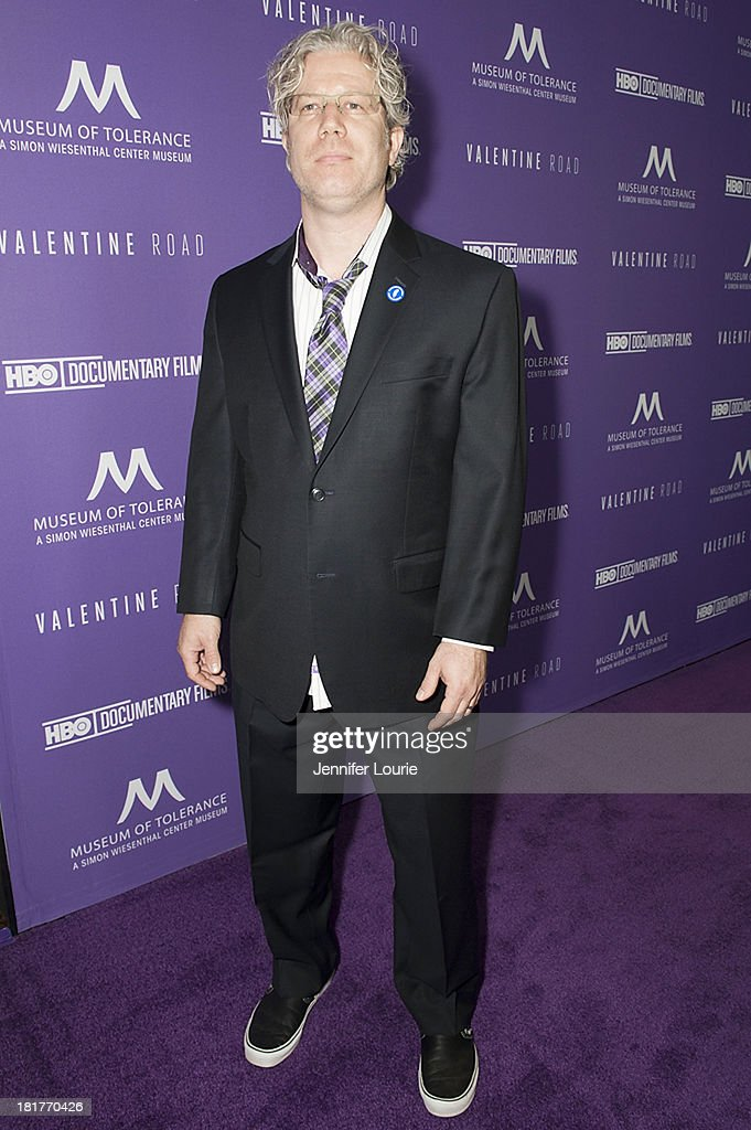 Producer Eddie Schmidt attends the Los Angeles premiere screening of 'Valentine Road' at The Museum of Tolerance on September 24, 2013 in Los Angeles, California.