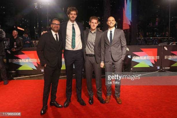 Producer Eddie Vaisman Director Cory Finley Producer Mike Makowsky and Producer Fred Berger attend the Bad Education UK Premiere during the 63rd BFI...