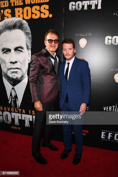 Producer Edward Walson and director Kevin Connolly attend the New York premiere of Gotti starring John Travolta in theaters June 15 2018 on June 14...
