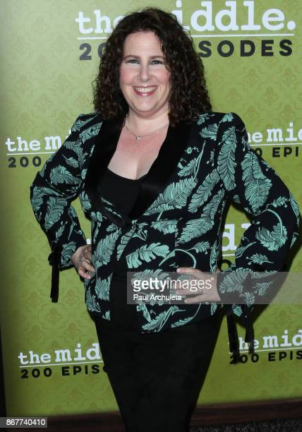 Producer Eileen Heisler attends ABC's 'The Middle' 200th episodes celebration at the Fig Olive on October 28 2017 in West Hollywood California