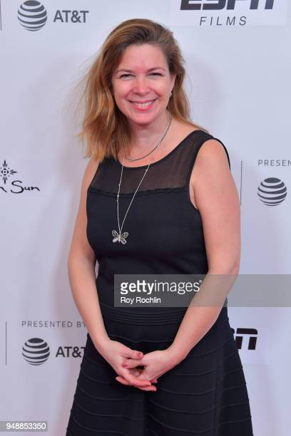 Producer Elaine Frontain Bryant attends a screening of 'No Greater Law' during the 2018 Tribeca Film Festival at Cinepolis Chelsea on April 19 2018...