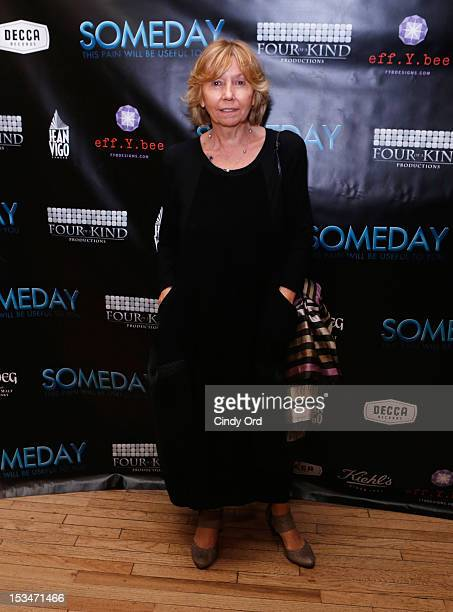 Producer Elda Ferri attends the 'Someday This Pain Will Be Useful To You' New York Screening after party at Kiehl's Since 1851 Flagship Store on...