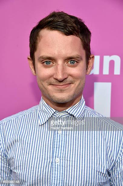 Producer Elijah Wood attends the screening of A Girl Walks Home Alone at Night with Warpaint in concert during Sundance NEXT FEST at The Theatre at...