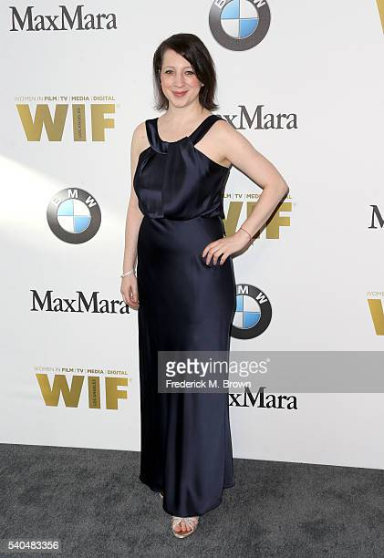 Producer Elisa Pugliese attends Women In Film 2016 Crystal Lucy Awards Presented by Max Mara and BMW at The Beverly Hilton on June 15 2016 in Beverly...