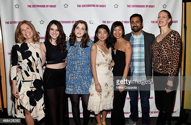 Producer Elizabeth Cuthrell actress Kara Hayward actress Georgie Henley actress Willa CuthrellTuttleman writer Marilyn Fu actor Kal Penn and director...