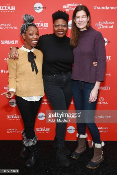 Producer Elle Lorraine director Dime Davis and producer Erin Wright attend the 'Westwood Punk Icon Activist' Premiere And Wild Wild West Short during...