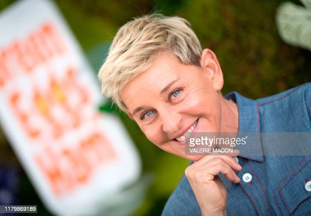 "Producer Ellen DeGeneres attends Netflix's season 1 premiere of ""Green Eggs and Ham"" at Hollywood Post 43 on November 3, 2019 in Hollywood,..."