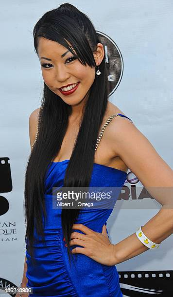 Producer Emi Kamito arrives for the Etheria Film Night 2015 held at American Cinematheque's Egyptian Theatre on June 13, 2015 in Hollywood,...