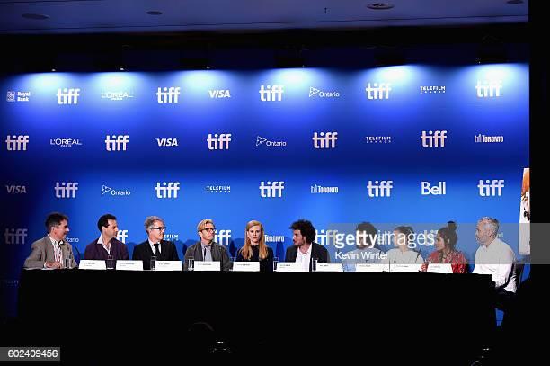 Producer Emile Sherman, screenwriter Iain Canning, actors David Wenham, Nicole Kidman, Garth Davis, Dev Patel, Rooney Mara, Priyanka Bose,...