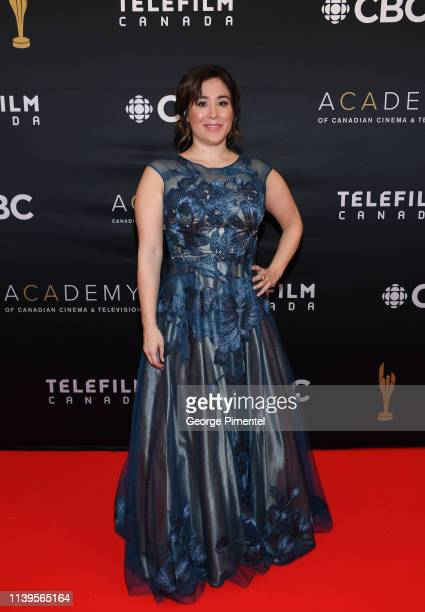 Producer Emily Andras attends the 2019 Canadian Screen Awards Broadcast Gala at Sony Centre for the Performing Arts on March 31 2019 in Toronto Canada