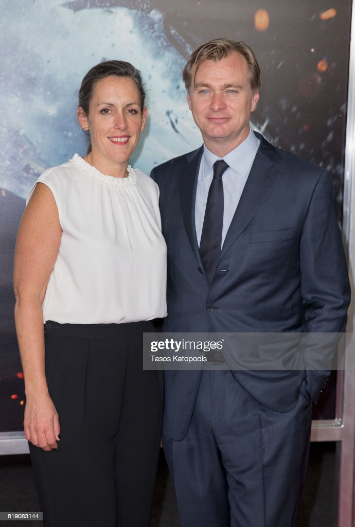 Producer Emma Thomas and Director Christopher Nolan attends the red carpet premiere of 'Dunkirk' at the Smithsonian Museum on July 19, 2017 in Washington, DC.