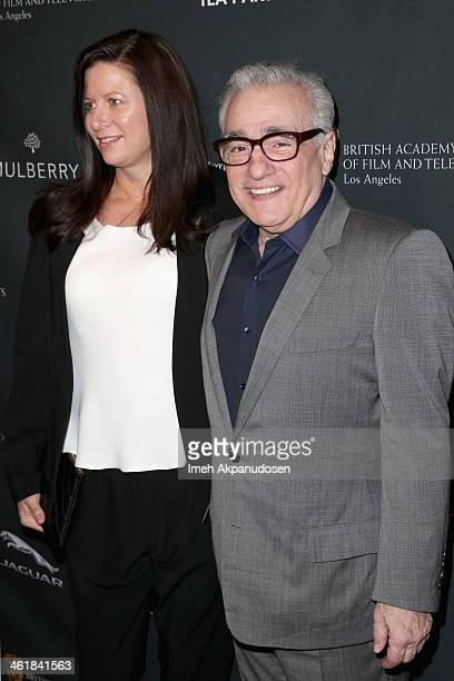 Producer Emma Tillinger Koskoff and director Martin Scorsese attend the BAFTA LA 2014 Awards Season Tea Party at the Four Seasons Hotel Los Angeles...