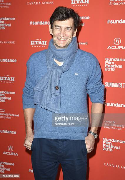 Producer Eric Altmayer attends the 'Agnus Dei' Premiere during the 2016 Sundance Film Festival at Eccles Center Theatre on January 26 2016 in Park...