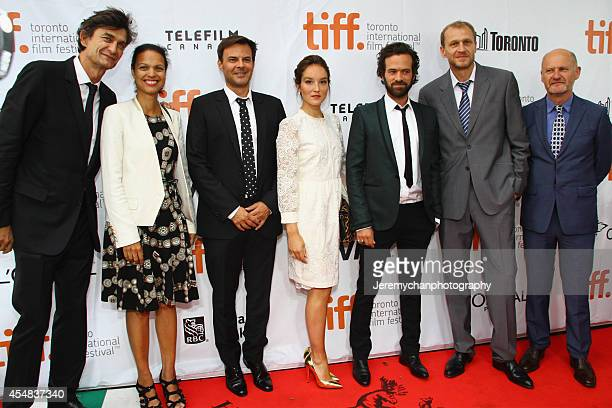 Producer Eric Altmayer Isabelle Giordano director François Ozon actor Anaïs Demoustier actor Romain Duris producer Nicolas Altmayer and JeanPaul...