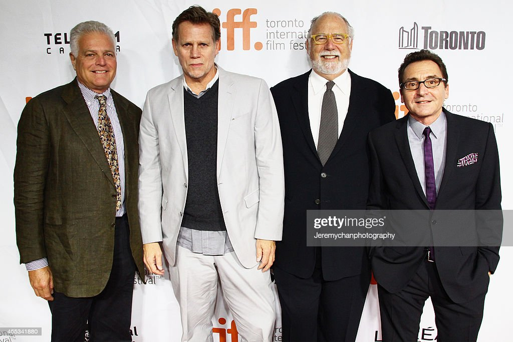 Producer Eugene Musso, producer Al Corley, executive producer Jonathan Dana, producer Bart Rosenblatt arrive at 'The Forger' Premiere during the 2014 Toronto International Film Festival held at Roy Thomson Hall on September 12, 2014 in Toronto, Canada.
