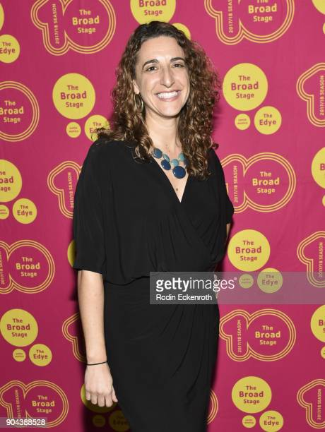 Producer Eva Price attends 'Small Mouth Sounds' opening night at The Eli and Edythe Broad Stage on January 12 2018 in Santa Monica California