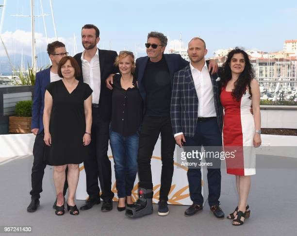 Producer Ewa Puszczynska, actor Tomasz Kot, actress Joanna Kulig, director Pawel Pawlikowski, actor Borys Szyc and producer Tanya Seghatchian attend...
