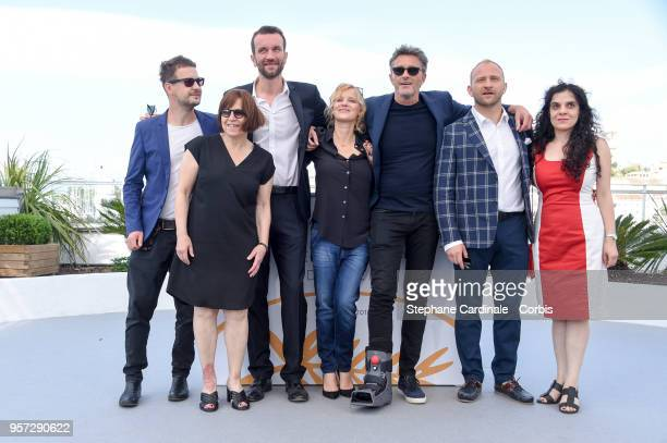 Producer Ewa Puszczynska, actor Tomasz Kot, actress Joanna Kulig, director Pawel Pawlikowski, actor Borys Szyc and producer Tanya Seghatchian attends...